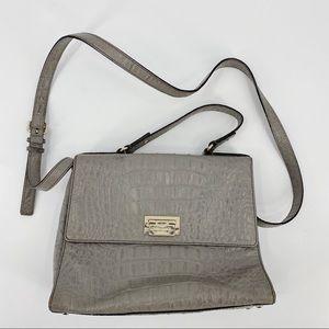 Kate Spade grey crossbody purse